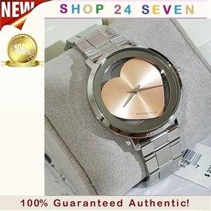 NWT Michael Kors Jaryn Silver- tone Watch MK3620